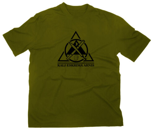 Kalima Eskrima Arnis FMA MMA Logo T-Shirt Kampfsport Filipino Martial Arts