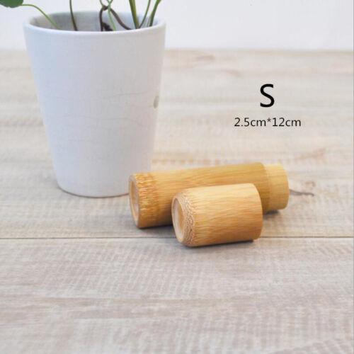 Organizer Tea Leaf Bottle Tubes Jar Bamboo Tea Kettle Canister Spice Storage Box