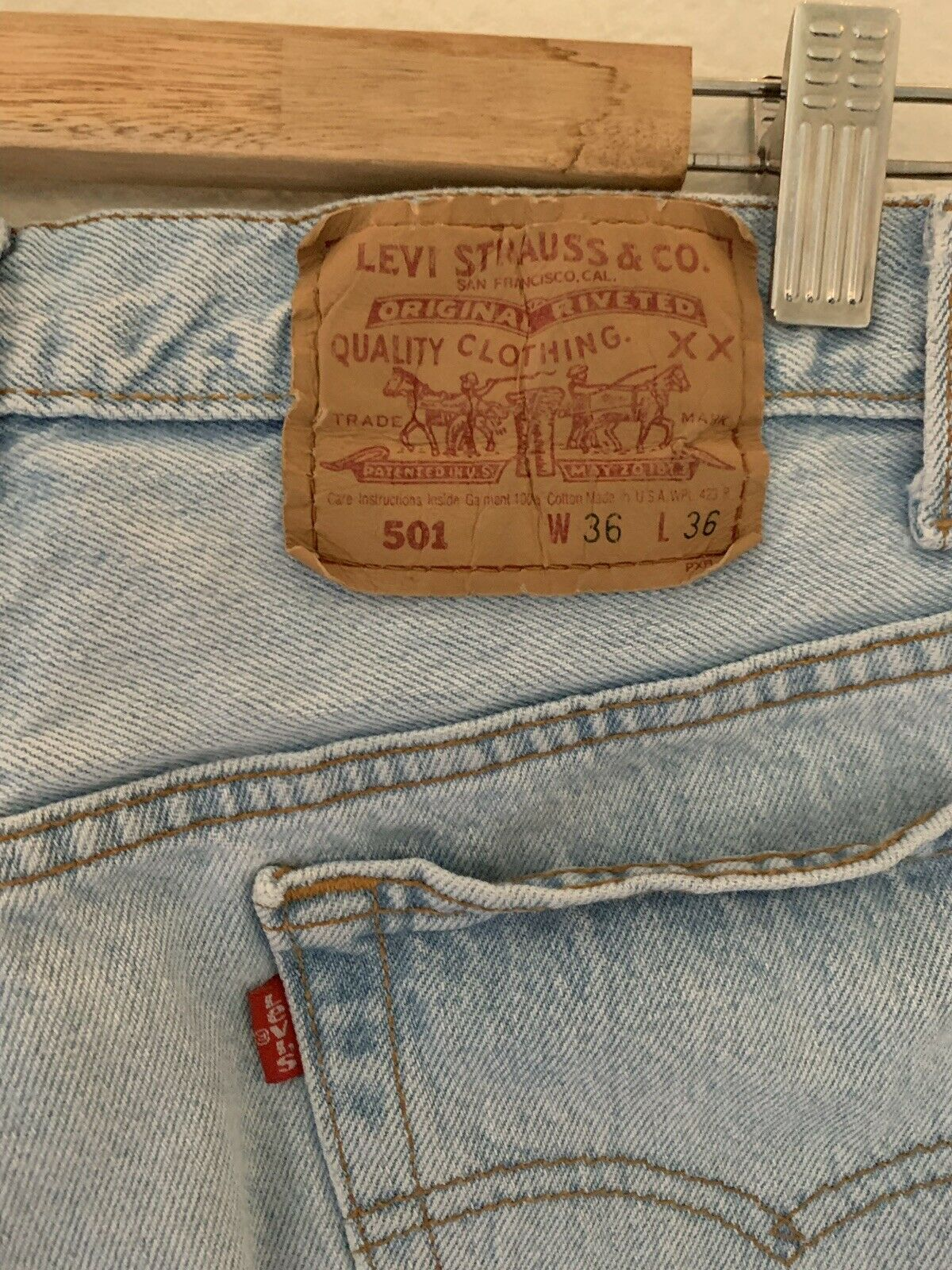 Levis Vintage 501 Made In USA - image 3