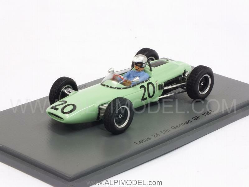 Lotus 24 GP Germany 1963 J.Hall 1 43 SPARK S4825