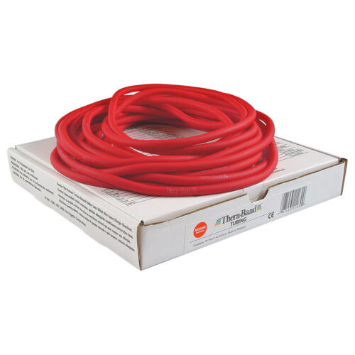 Thera Band tubing übungsband Fitness physio résistance 7,5 M ressources rouge