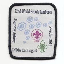 2011 - 22nd World Jamboree Sweden - INDIA Contingent -