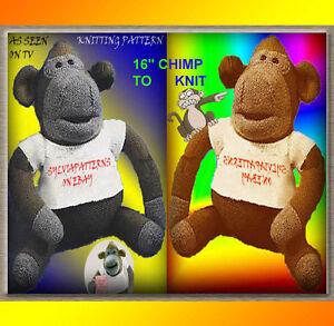 ITV-PG-TIPS-16-034-MONKEY-CHIMP-PLUS-1-SWEATER-amp-HAT-TO-KNIT-KNITTING-PATTERN
