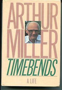 Arthur-Miller-Timebends-Rare-Signed-Autograph-1st-Edition-Book-GA-COA