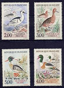 STAMP-TIMBRE-FRANCE-NEUF-SERIE-N-2785-AU-2788-FAUNE