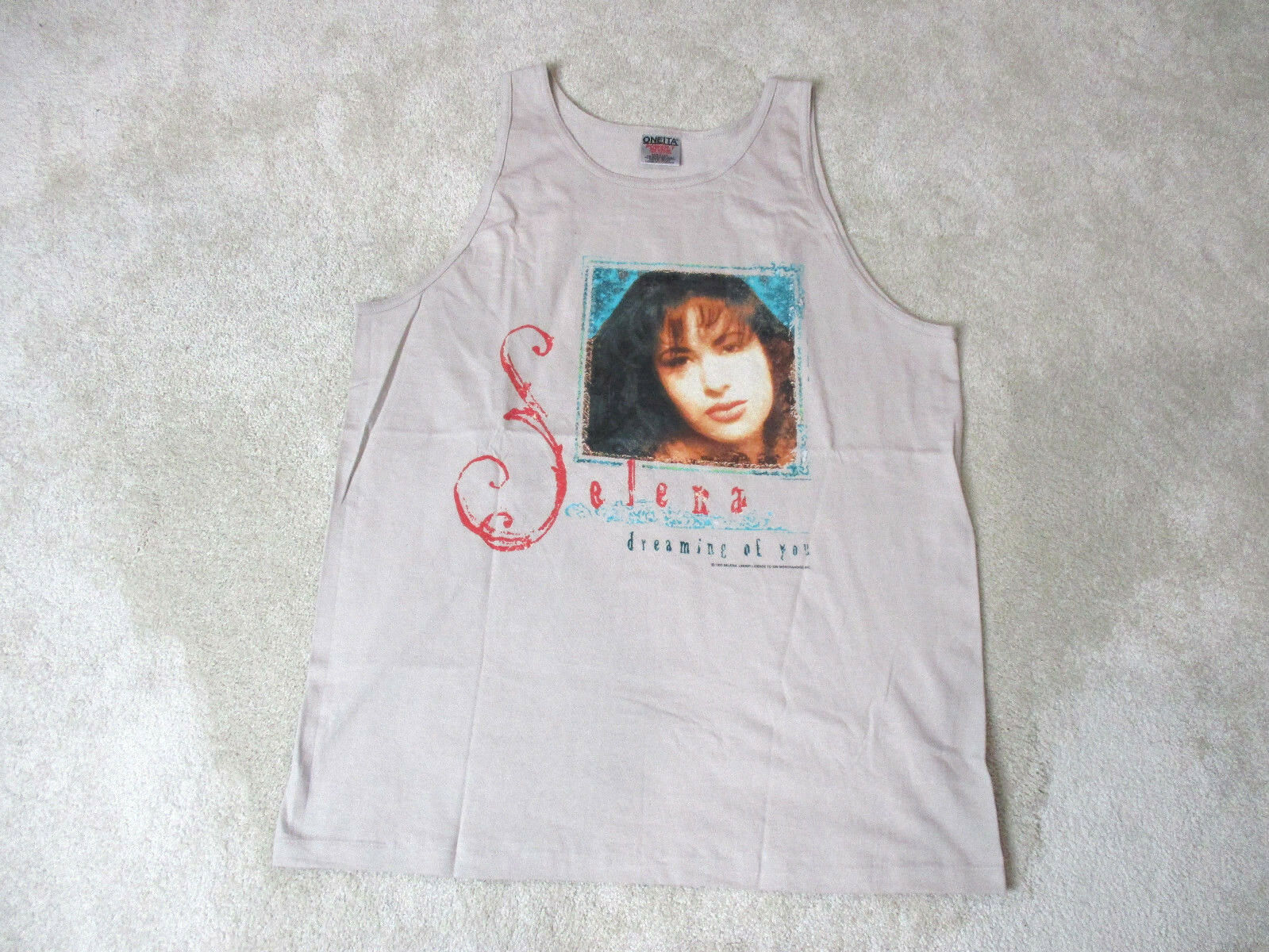 VINTAGE Selena Quintanilla Dreaming Of You Concert Shirt Adult Large 1995 90s