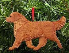 Golden Retriever Ornament Dark