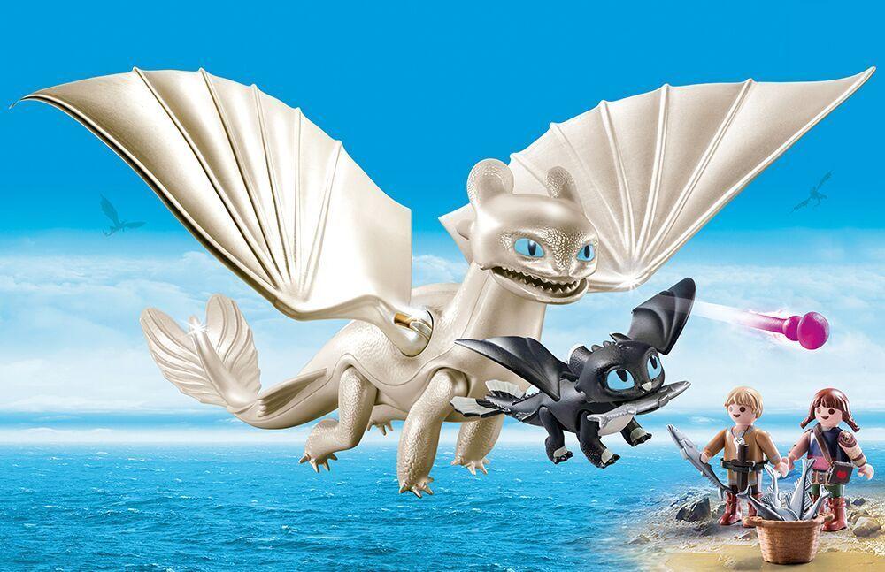 Playmobil 70038 - Dragons - - - Lumière Fureur avec Babydrachen et Enfants, e45aa1