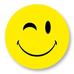 Magnet Aimant Frigo Ø38mm Smiley Face Smile Smiling Emo Emoticones Happy  Face | eBay