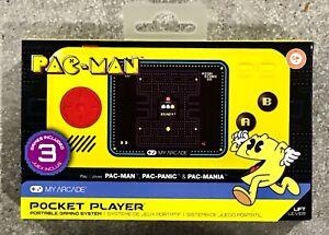 My-Arcade-Pac-Man-Pocket-Player-Portable-Gaming-System-Yellow-Black-NEW