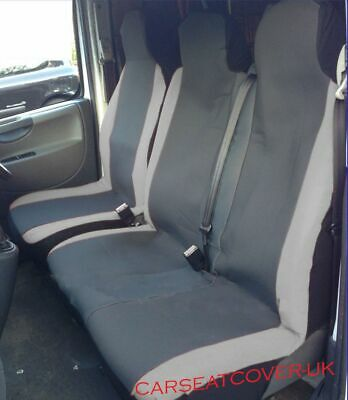 BLACK HEAVY DUTY SINGLE SEAT COVER WATERPROOF TOYOTA HI-ACE 83+
