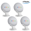 Smart-Speaker-Pedestal-Stand-For-Google-Home-Mini-Google-Nest-Mini-White thumbnail 25
