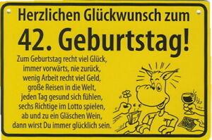 Herzlichen Glückwunsch zum 38 //nett