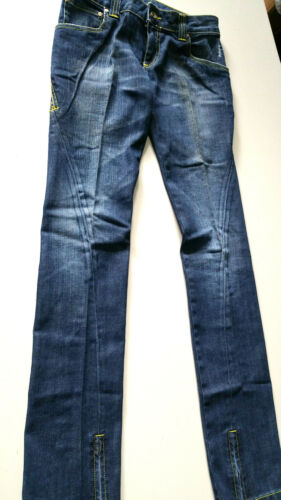 43 Pantalone Cerniere Priorite' Size It Bassa Denim A Jeans Donna Verde 29 Vita vR4wOvAq