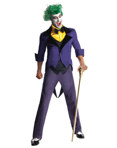 DC Super Villains The Joker Adult Costume