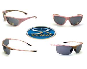 f8f5ea8dca Image is loading Womens-Pink-Camo-Solaray-Sunglasses-Camouflage -Shades-Sport-