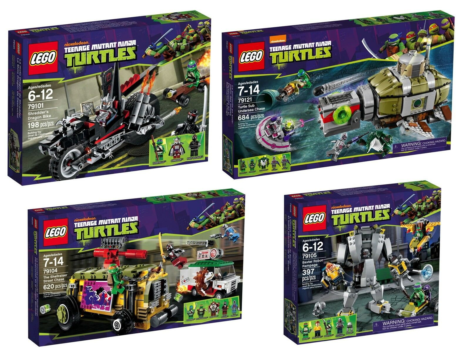 79101791047910579115791167911779121 Turtles ® Lego Ninja Teenage TlKJF1u3c