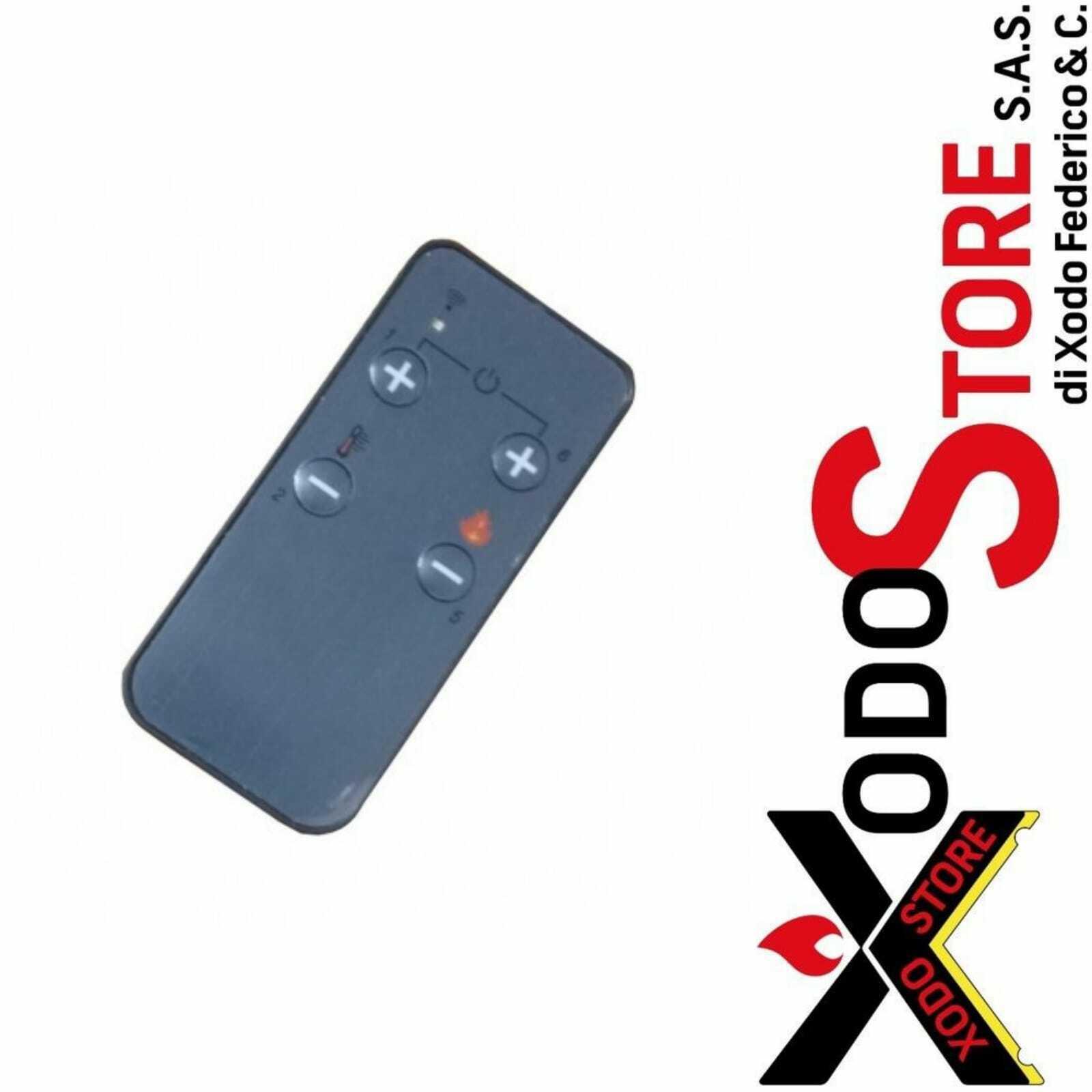 Telecomando infrarossi termoregolatori MICRONOVA per stufe - cod. 14710030