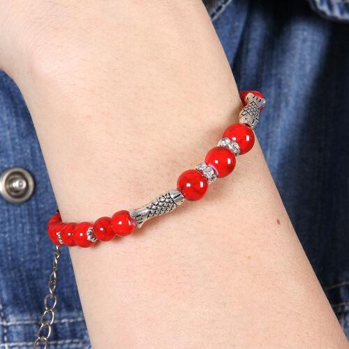 Hot Livraison gratuite NEW Tibet silver Multicolor jade turquoise bead bracelet S107