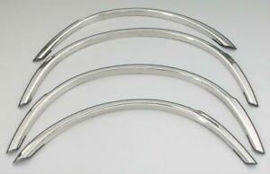 For Cadillac Escalade 1999-2000 QMI Polished Fender Trim