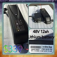 48V 12ah Lithium Electric Bike,electric Bike Battery,lithium Ebike Battery