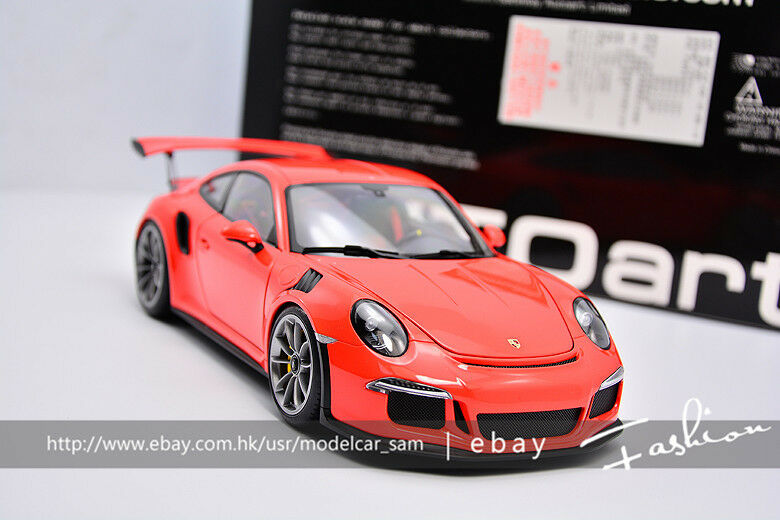 deportes calientes Autoart 1 18 Porsche 911 (991) (991) (991) GT3 RS Lava Naranja  suministramos lo mejor