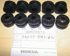 Honda CR125/250 GL1500 ST1100 10-pack rubber radiator grommets 19051-KA3-830   R