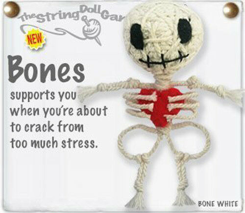 Kamibashi Bones The Original String Doll Gang Keychain Clip