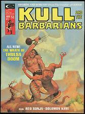 Kull and the Barbarians 2 Magazine Robert Howard REH Red Sonja Jess Jodloman art