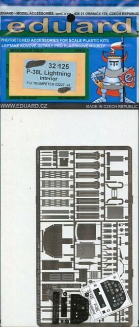 2 PEs Eduard Models 1//72 MiG-31B//BM Interior Detail Set for Trumpeter kit
