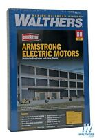 Walthers Cornerstone Series® HO Scale Background Building Kits Armstrong Electric Motors - 00616374020447 Toys