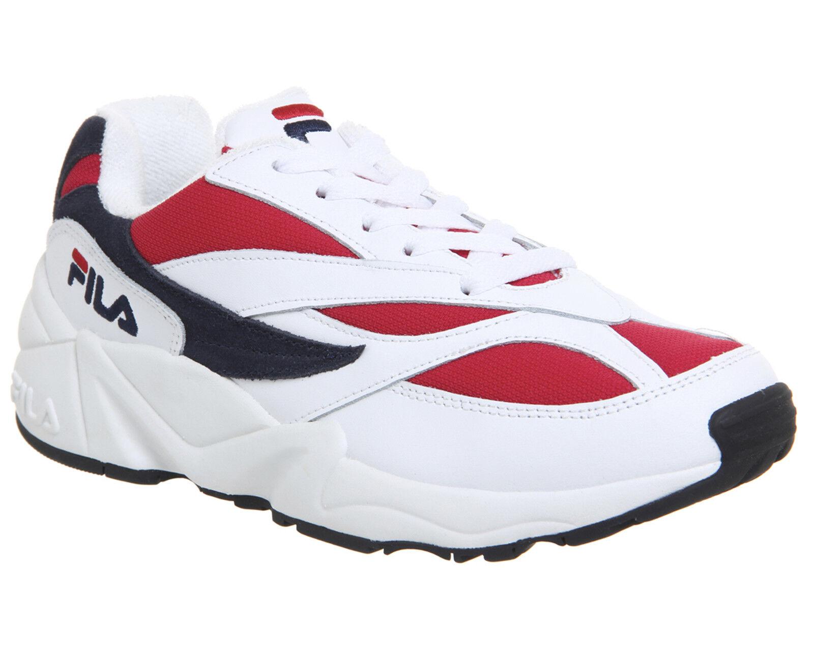 b1c5b4f7eea Womens Fila Venom Trainers White Fila Fila Red Trainers shoes Navy ...