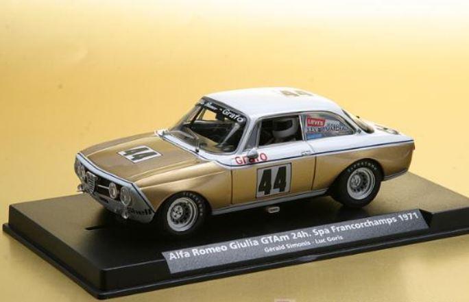 Scalextric Fly Alfa Romeo Giulia GTV Spa Francochamps 1971