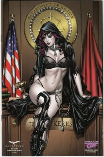 Red Agent Island of Dr Moreau #3 NM Awesome Con Collectible Mike Krome Cover