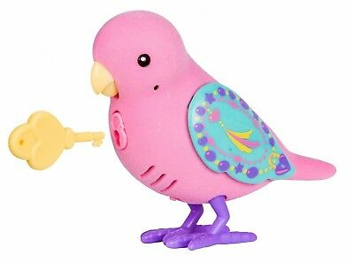 LITTLE LIVE PETS Lockie Lovebird SECRET SONGBIRDS Hot Pink FAST SHIP!!