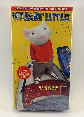 Stuart Little Vhs 1999 Family Adventure Michael J Fox Comedy Cute Vtg Ebay