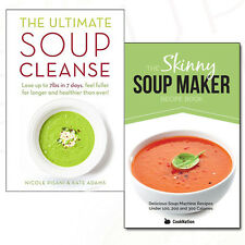Soup Collection Skinny Soup Maker Recipe, Ultimate Soup Cleanse 2 Books Set NEW