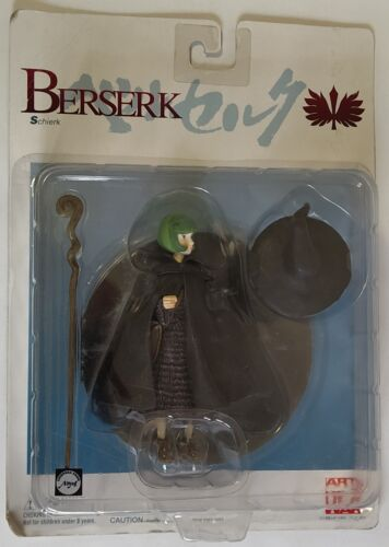 """Berserk Action Figure Schierk Schierke 4.75/"""" Art of War Japan"""