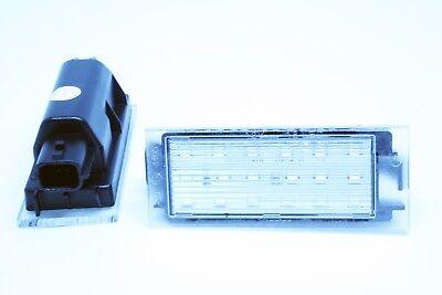 2x Led License Number Plate Light Dacia Sandero 2 Ii Facelift Canbus Ridurre Il Peso Corporeo E Prolungare La Vita