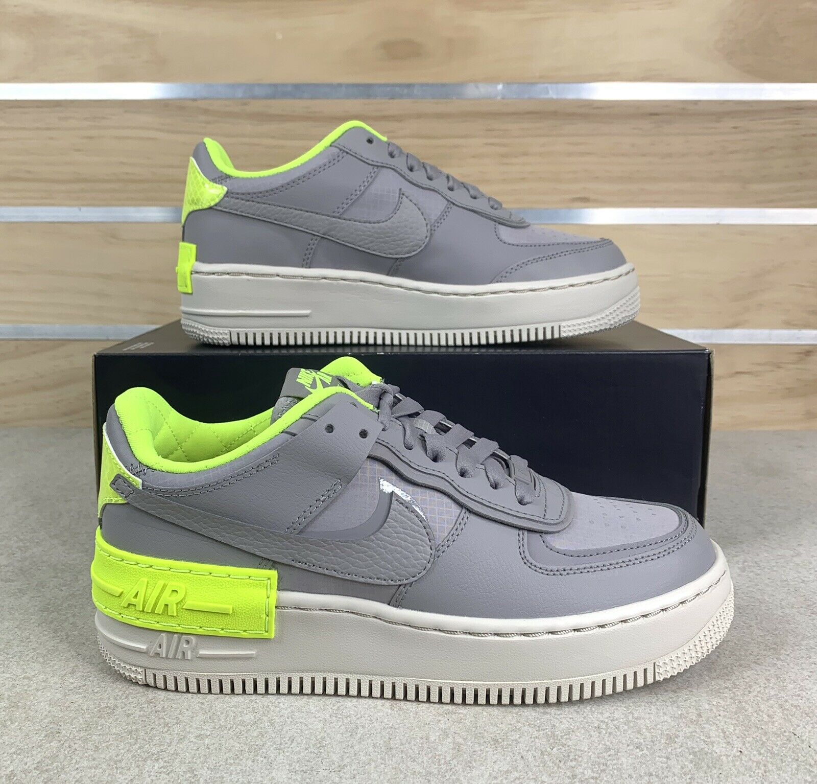 reembolso ducha Premonición  Nike Air Force 1 Shadow SE Women Atmosphere Grey Cq3317 002 Size 7 for sale  online | eBay