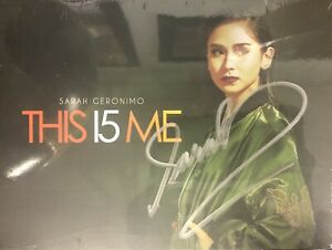 Sarah Geronimo This Is Me CD Album With Signature