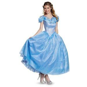 Femmes Adulte Prestige Cendrillon Walt Disney Princesse De Luxe Costume Ebay
