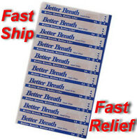 200 Nasal Strips (tan/med) Reduce Snoring And Breathe Better Right Away - Relief