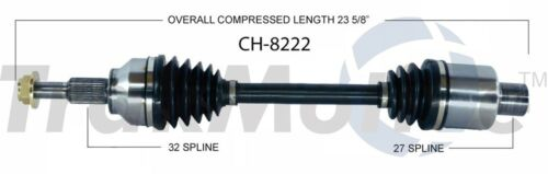 For Chrysler Pacifica 07-08 4.0L Front Passenger Right CV Axle Shaft SurTrack