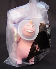MCDONALDS HAPPY MEAL TOY 2001 MONSTERS INC #9 George Sanderson Glow -Cake Topper