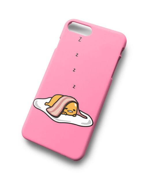 Cute Funny Gudetama Sleeping For iPhone 7 7 Plus Hard Case Cover