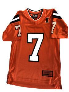 Illinois-Fighting-Illini-NCAA-Football-Jersey-Youth-Small-8-10-Colosseum-No-7