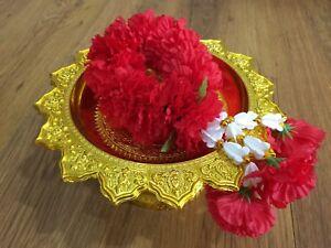 Thai Lovely Rose Flower Garland Spirit Worship God Buddha Malai