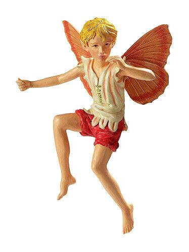 Flower Fairy Geißblatt Deko Figur Elfe Fee Blumenkind NEU