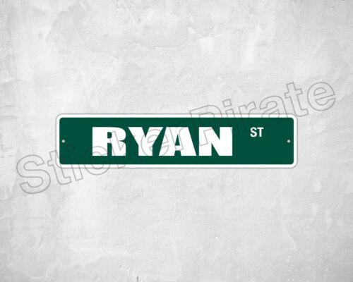 """*Aluminum* Ryan St 4/"""" x 18/"""" Metal Novelty Street Sign  SS 3135"""